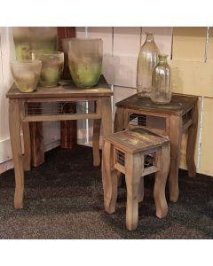 Tischset (3 Stück) Hoka, Holz