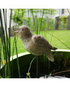 Vogel Sperling, Resin, für Metallstab geeignet