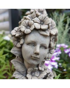 Blumenkind Hibiskus, Resin betonfarben