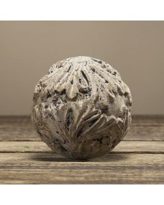 Kugel Balu, Zementguss, betonfarben, 7 cm